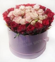 Коробка цветов 3459