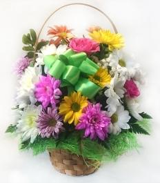 Корзинка цветов 3539